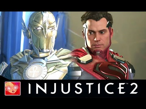 Injustice 2 - Doctor Fate Vs Justice League All Intro Dialogues