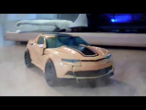 Transformers AOE Stop Motion: 2014 Bumblebee test footage