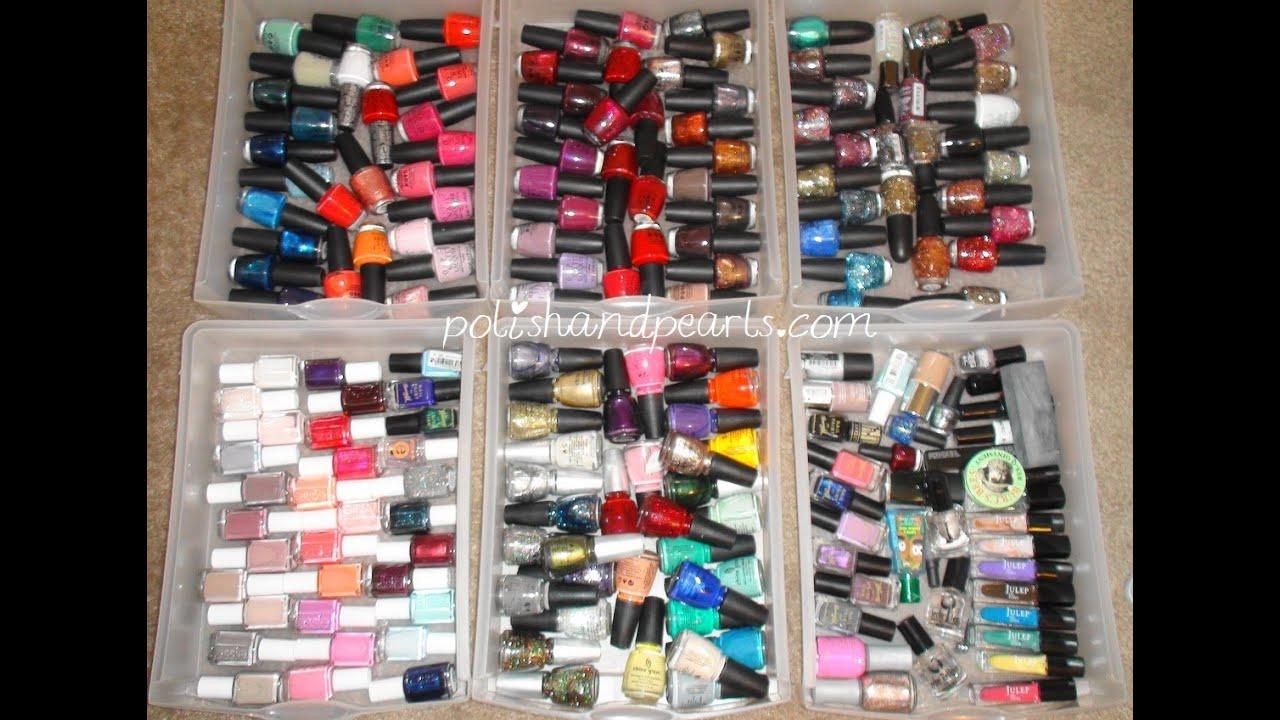 Nail Polish Collection!!! - YouTube