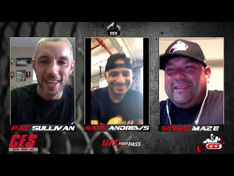 CES PODCAST: CES LW CHAMPION NATE ANDREWS BREAK DOWN HIS 1ST TITLE FIGHT AND MAKES A MAJOR CALL OUT
