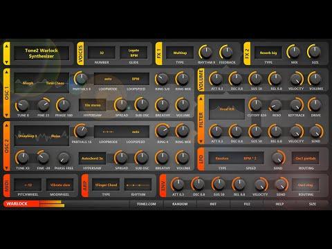 Tone2 Warlock Synthesizer