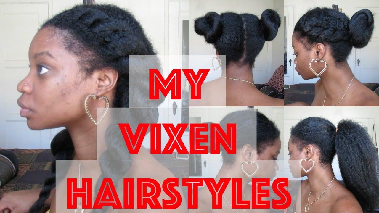 Crochet Braids My Vixen Hairstyles Youtube