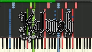 "Kalmah -""Heroes To Us"" Synthesia Piano Tutorial"