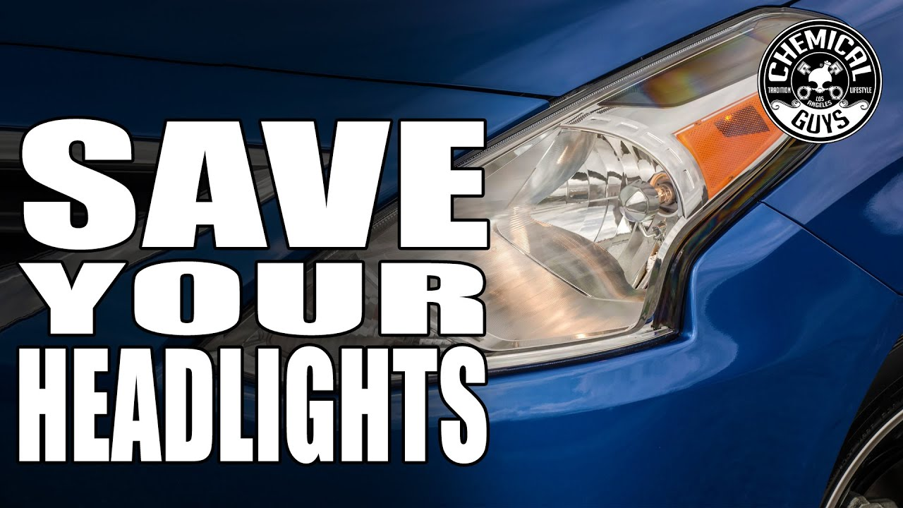 How To Prevent Yellow Headlights Chemical Guys Jetseal Youtube