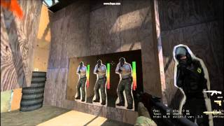 CS:Global Offensive - Weapons Course In 21.2s | 100% Accuracy