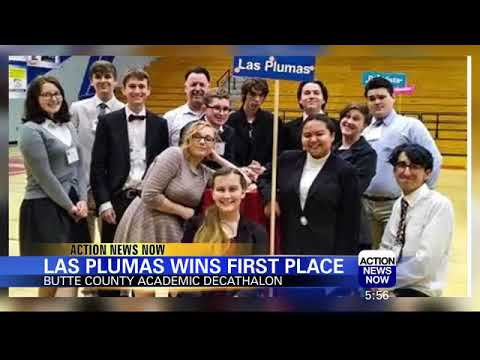 Las Plumas High School Wins Decathalon