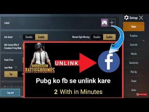 Remove Fb Account From Pubg Permanently Pubg Mobile New Pubg Trick 2020 By Ifb Youtube