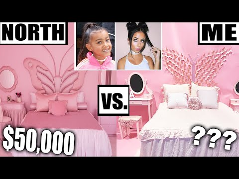 HOW TO MAKE NORTH WEST'S BEDROOM *for Cheap!*