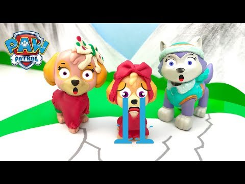 Paw Patrol Full Episodes Lost on the Ice Special Skye Chase Everest Baby Rescue