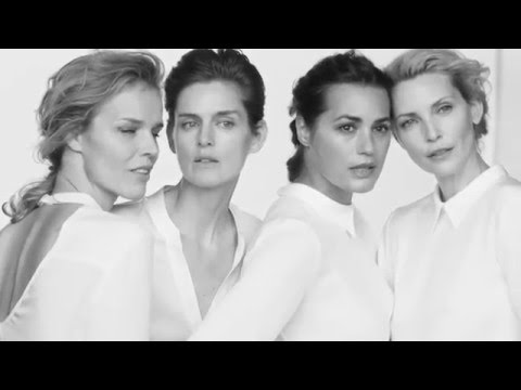 Armani showed how normal women should dress themselves, not some models there