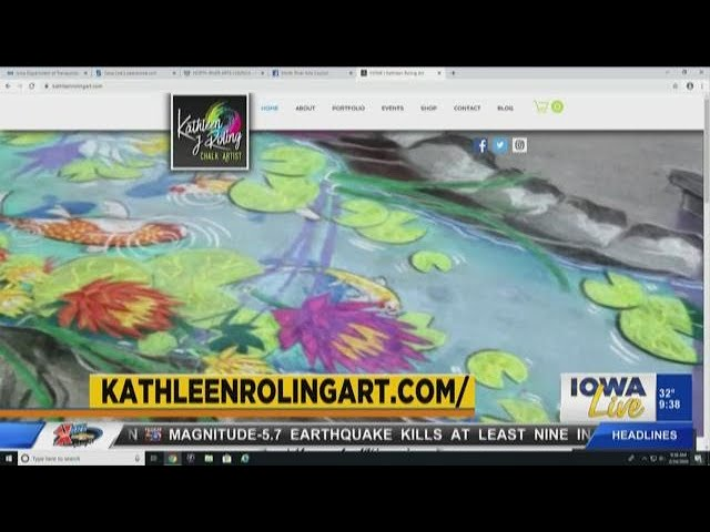 Iowa LIVE Interview with Artist Kathleen Roling