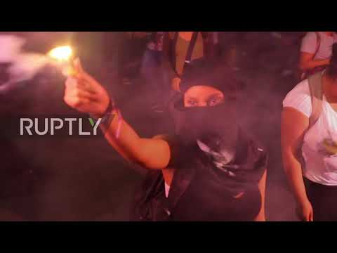 Brazil: Fiery clashes in Sao Paulo metro station as students protest fare hikes