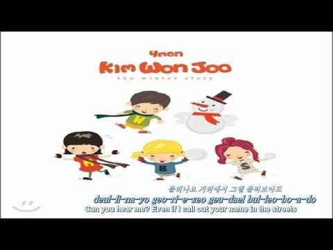 [Eng, Rom & Kor] Kim Won Joo of 4Men Feat Mi - Winter Sonata (겨울연가)