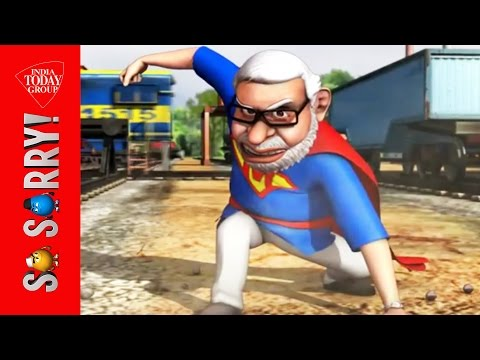 So Sorry: When Rajini trains Modi