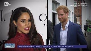 Meghan Markle e il Principe Harry pronti ad apparire in pubblico? - La Vita in Diretta 22/09/2017