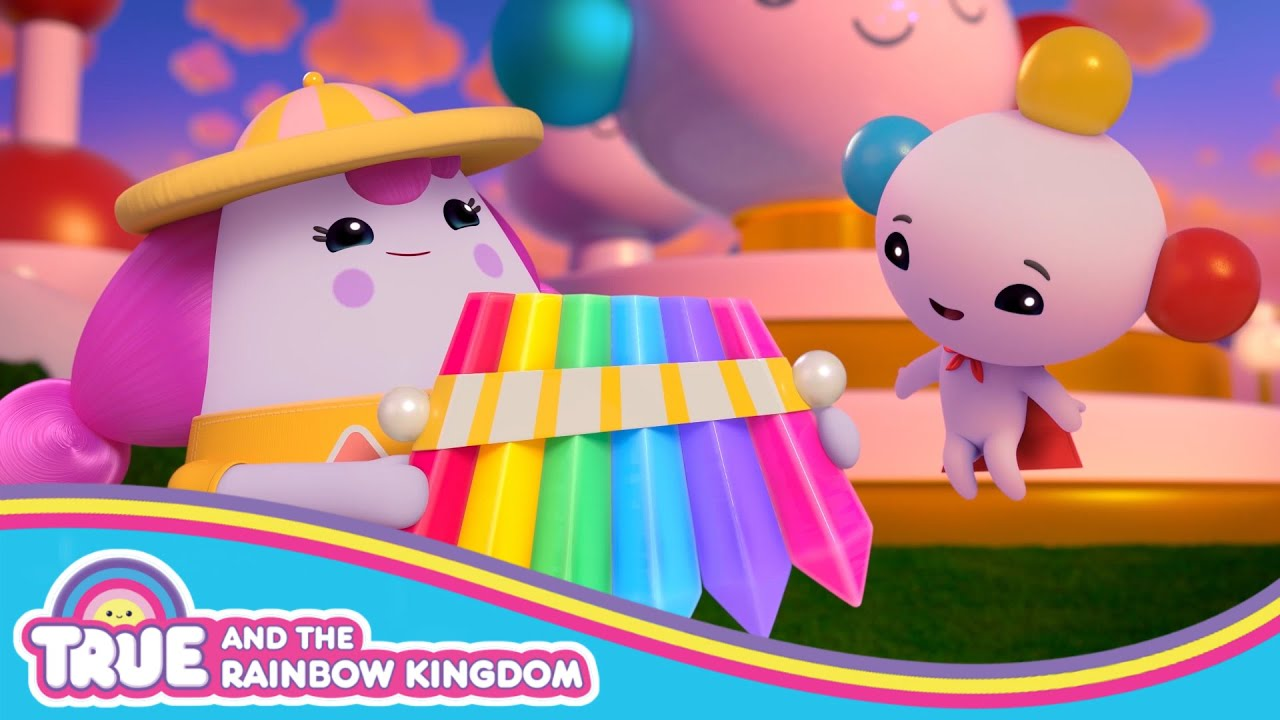 Dilly Dally Gives Rainbow King a Gift  | Rainbow Rescue | True and the Rainbow Kingdom