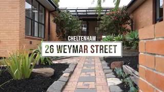 26 WEYMAR STREET, CHELTENHAM – PANDELIS PLOUSI