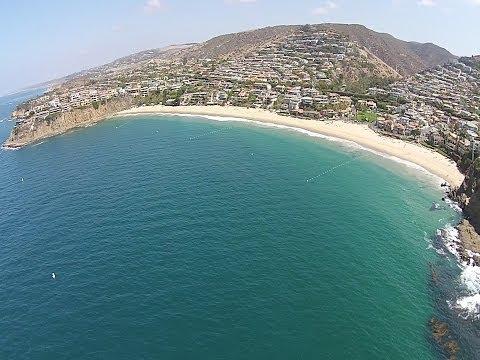 Crescent Bay, Shaws Cove & Emerald Bay Scenic Flight, Laguna Beach, CA - DJI Phantom 2 Vision+