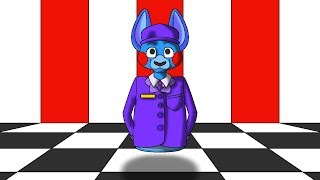 Minecraft Fnaf Bonbon The Security Guard (Minecraft Roleplay)