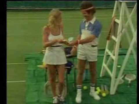 Hoges - 'Macenhoges'. (John McEnroe send up)