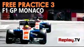 Aksi Rio Haryanto vs Pascal Wehrlein di sesi latihan ketiga F1 GP Monaco 2016