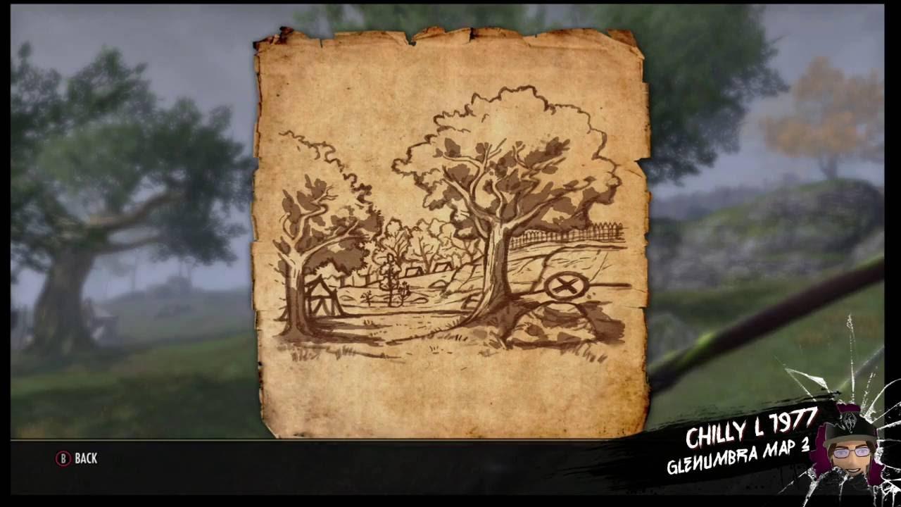 The Elder Scrolls Online Glenumbra treasure map 3 iii - YouTube