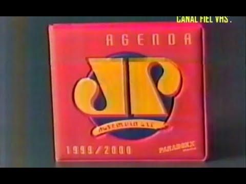Comercial -  'CD Agenda Jovem Pam da Paradox music'  1999.