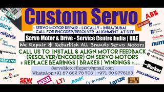 Custom Servo Servo Motor Repair Encoder Drive Encoder Stock Repair UAE Dubai Arab Oman ARAB