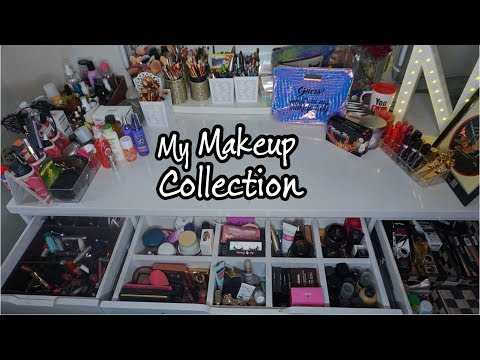 VANITY TOUR || MY MAKEUP COLLECTION || NISHOO KHAN