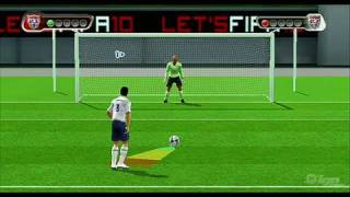 FIFA Soccer 10 Nintendo Wii Gameplay - Penalty Kicks