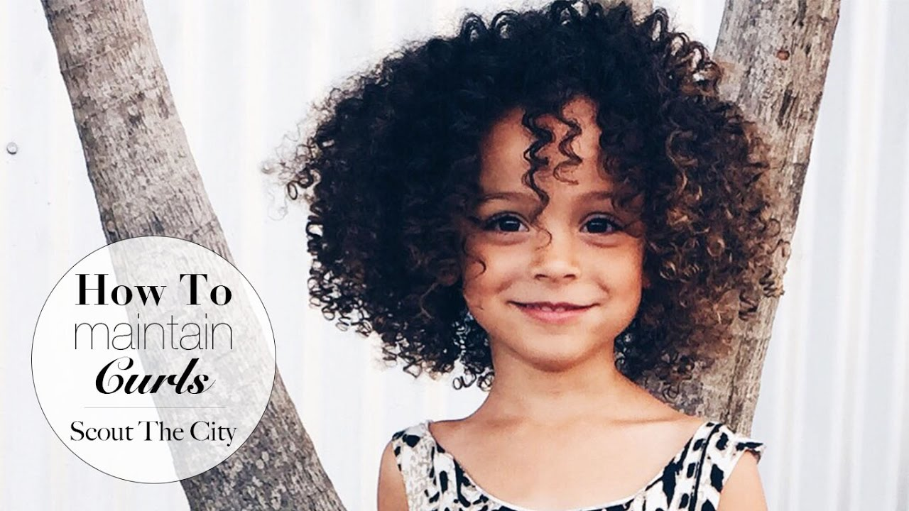 maintain curly hair