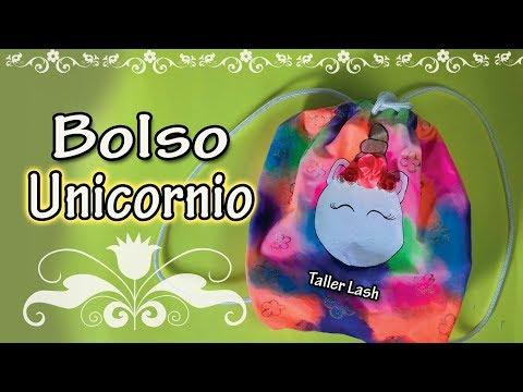 Bolso De Unicornio Regreso A Clases Colaboracion Mama Latina Taller