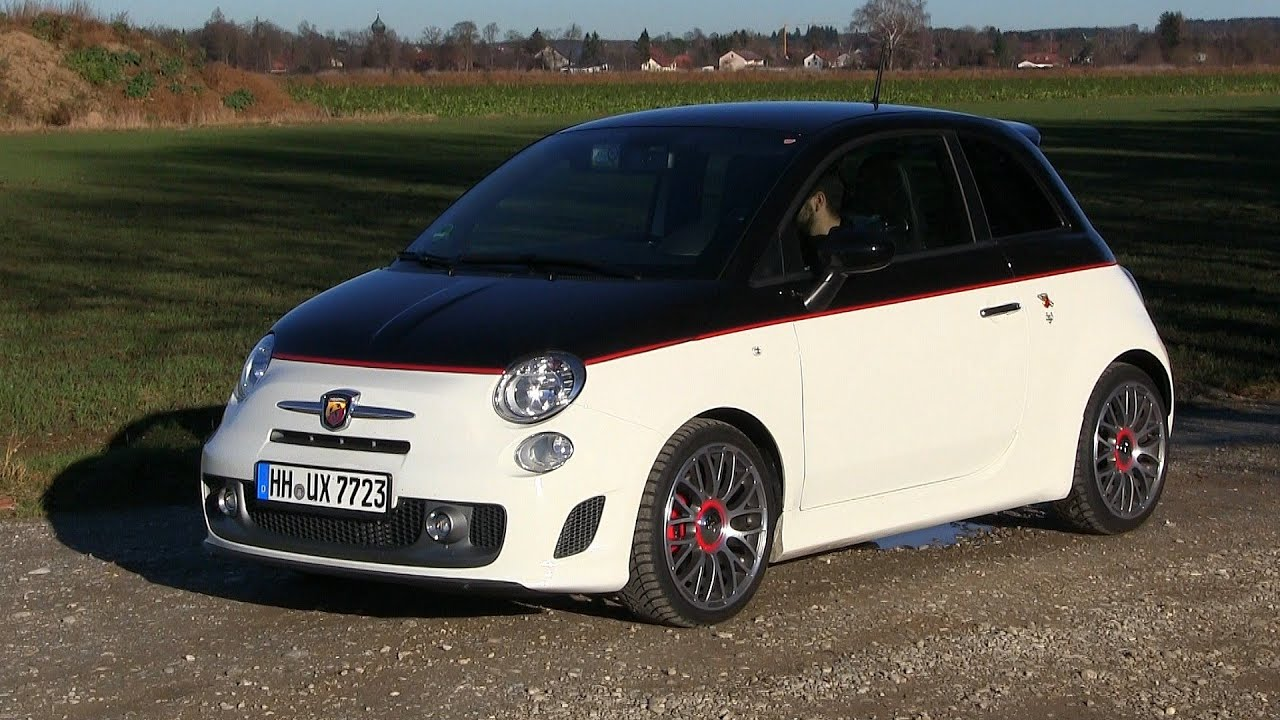 2015 fiat 500 abarth 595 turismo 160 hp test drive youtube