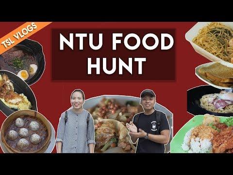 SEARCH FOR THE BEST UNI FOOD: NANYANG TECHNOLOGICAL UNIVERSITY | TSL Vlogs