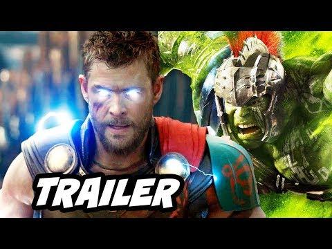 Thor Ragnarok Official Trailer 2 Breakdown - Thor vs Surtur