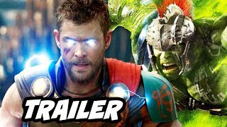 Thor Ragnarok Official Trailer 2 Breakdown - Thor vs Surtur