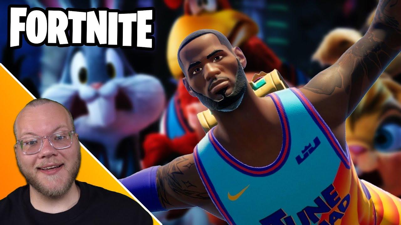 A Duos Victory Royale as LeBron James! - Fortnite w/ @ZackScottGames