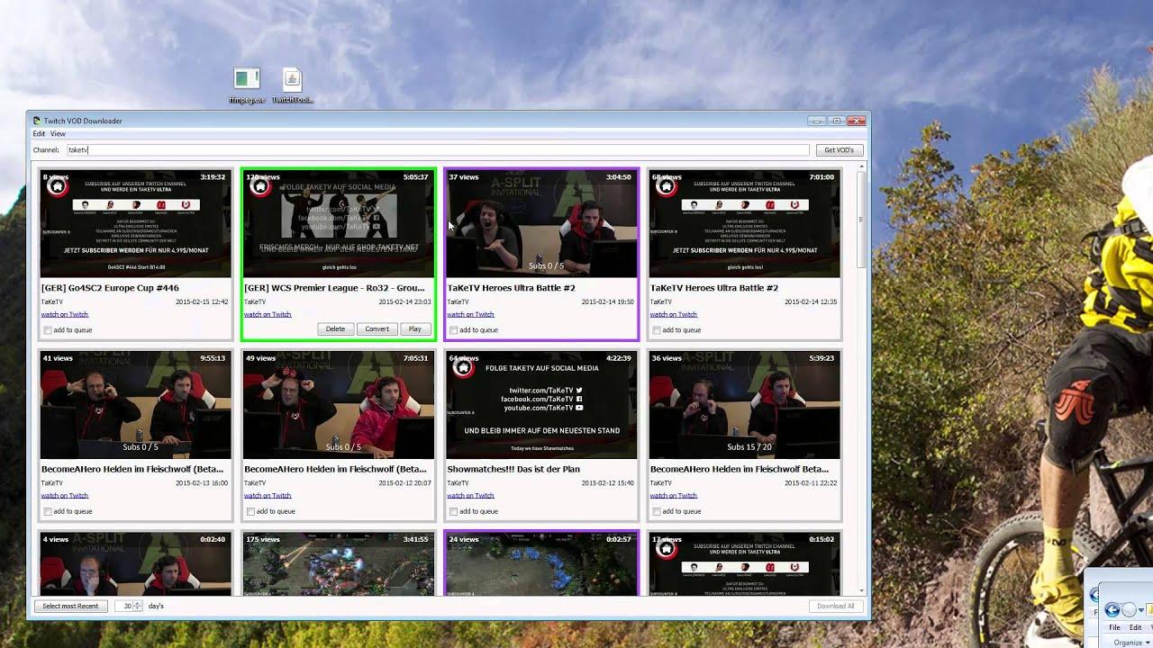 Twitch Vod Download