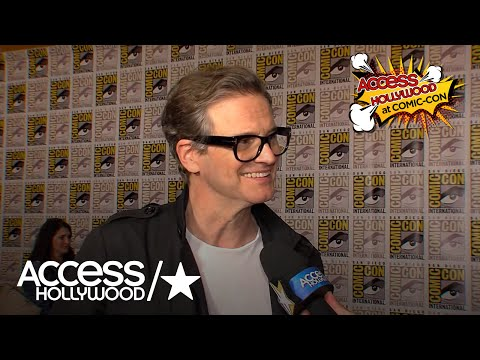 Colin Firth On Returning For 'Kingsman: The Golden Circle' | Access Hollywood