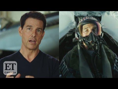 Tom Cruise Talks 'Top Gun: Maverick' Stunts