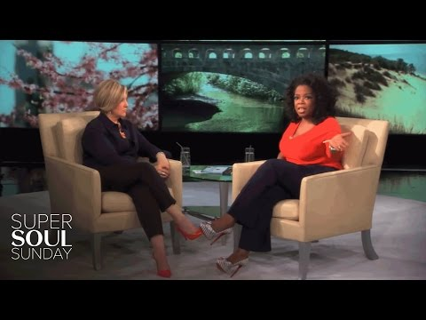 "Brené Brown interviewed by Oprah in a two-part episode of ""Super Soul Sunday"""