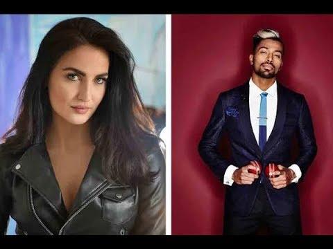 OMG! Indian Cricketer Hardik Pandya DATING Elli Avram | Bollywood Live