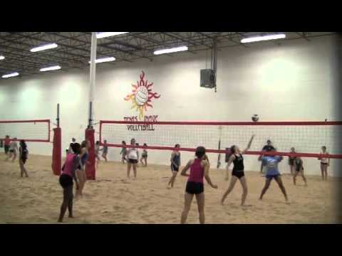 Indoor Sand Volleyball at Texas Image Sand - Indoor Sand Volleyball ...