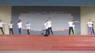 Best Locomotor presentation in  P.E.1