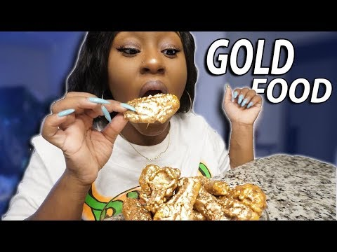 I ONLY ATE GOLD FOODS FOR 24 HOURS CHALLENGE!!!