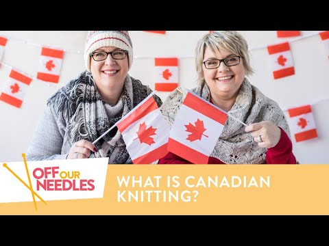 Knit NICER! How to Knit Canadian Style, Plus A FREE Pattern! | Off Our Needles S3E4