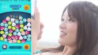 人気急上昇中の美少女「葉加瀬マイ」がLINE ディズニーツムツムに挑戦。...