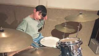 大倉忠義さん大好きの大祈が「ここに」のドラム演奏を練習中!