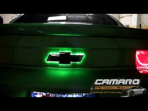 2010 13 Chevrolet Camaro Synergy Green Lighting