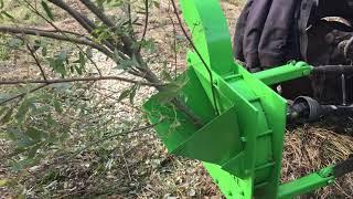 Wood chipper / Oksapurustaja